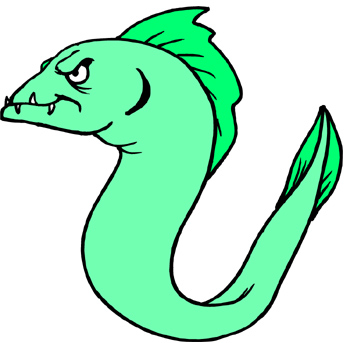 There's an eel where? ALL THE WAY in where??
