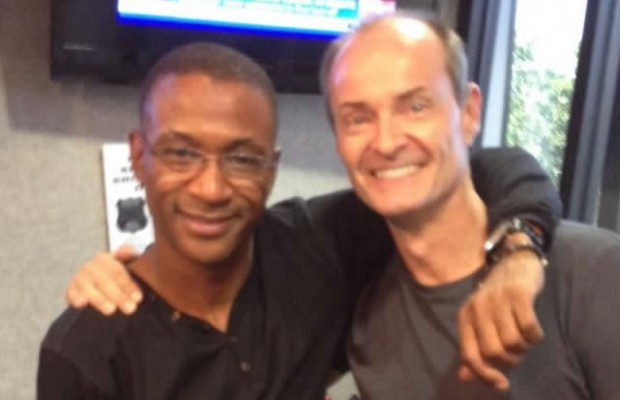 Comedian Tommy Davidson in studio with Rumble