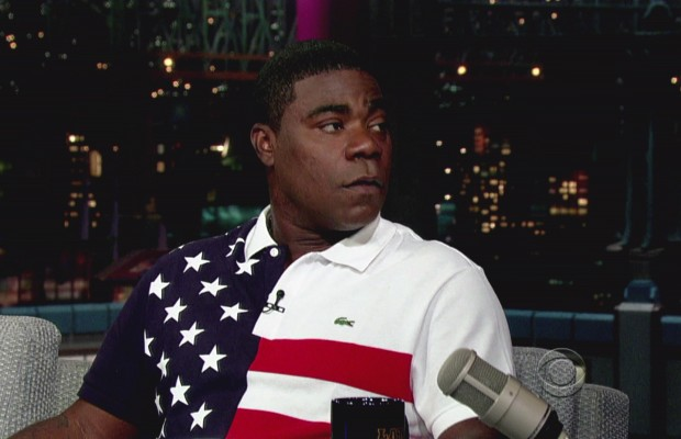 Tracy Morgan blames the Republicans for Hurricane Sandy