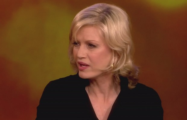It sounded like ABC's Diane Sawyer was drunk again