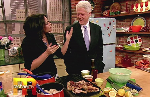 Is Former President Clinton calling women to hook-up?