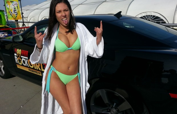 Video: Rock Girl Gina takes the Plunge