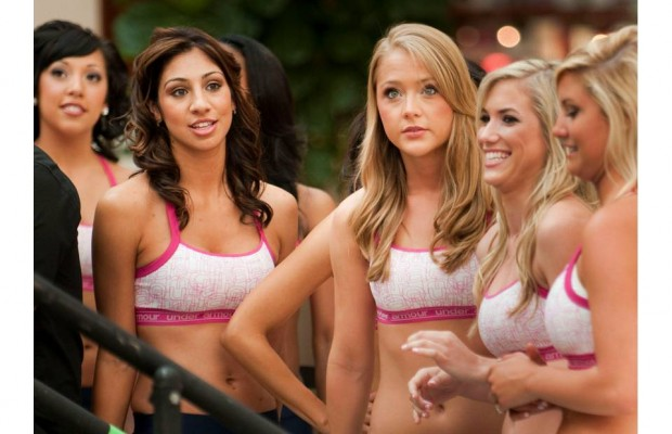 "Buffalo Bills Cheerleaders told how to clean  ""intimate areas"""