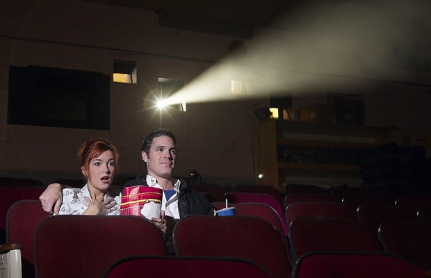 A couple of cousins go full-on pervert at the movies