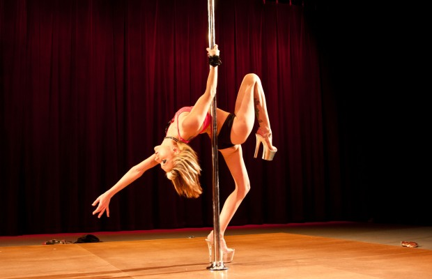 Pole Dancing at the Library