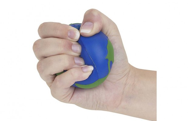 Those Stress Balls don't work for everybody