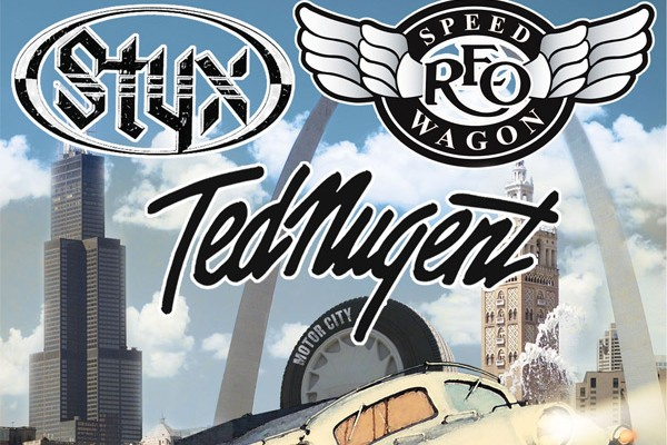 Styx, REO Speedwagon and Ted Nugent