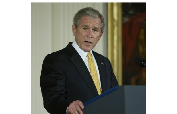 George W Bush Calls Rumble to talk about the new Presidential Library