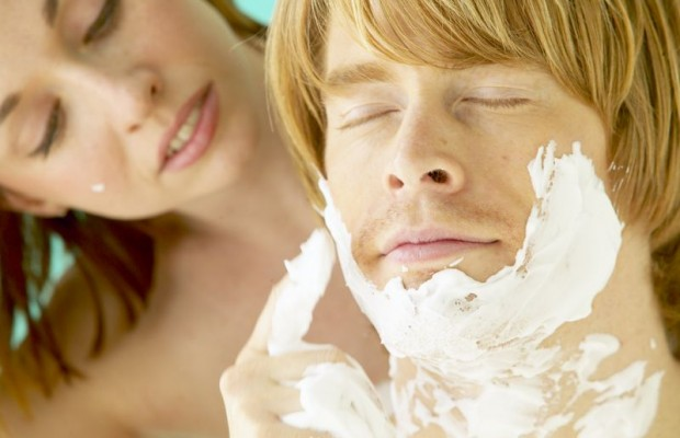 Nothing like a Hot Cream Shave