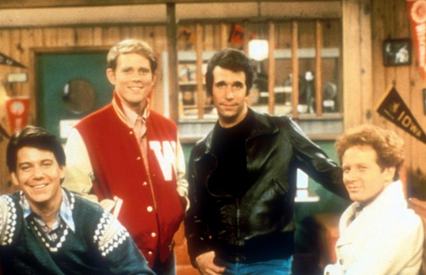 It could be Jesus or it could be the Fonz