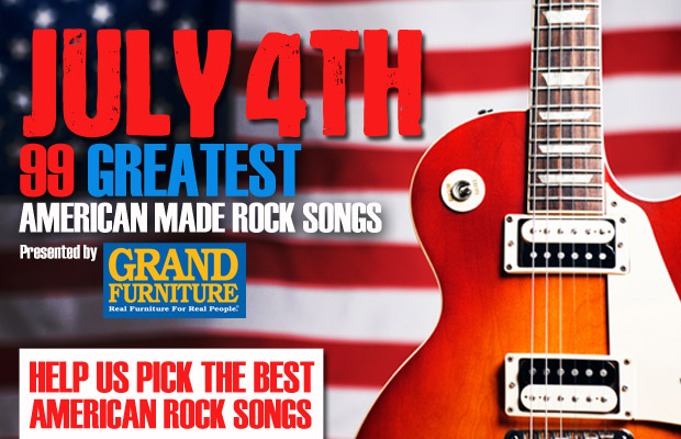 The 99 Greatest American Made Rock Songs