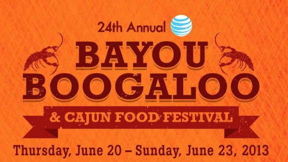 The 24th Annual Bayou Boogaloo and Cajun Food Festival