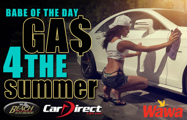 Babe of the Day Free Gas for the Summer Week 12