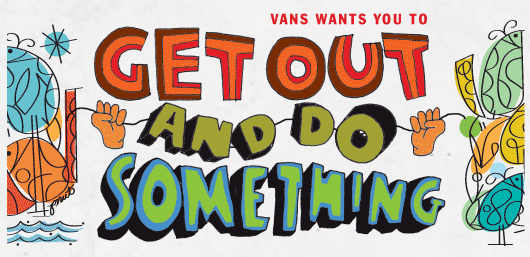 Vans Get Out and Do Something