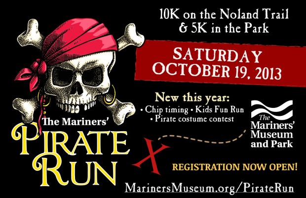 Pirate Run at the Mariners' Museum