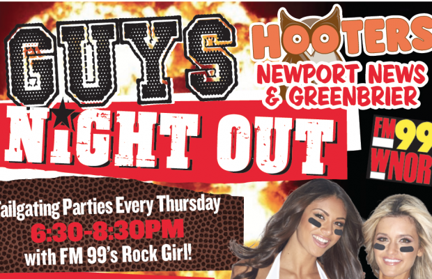 FM99 Guys Night Out At Hooters