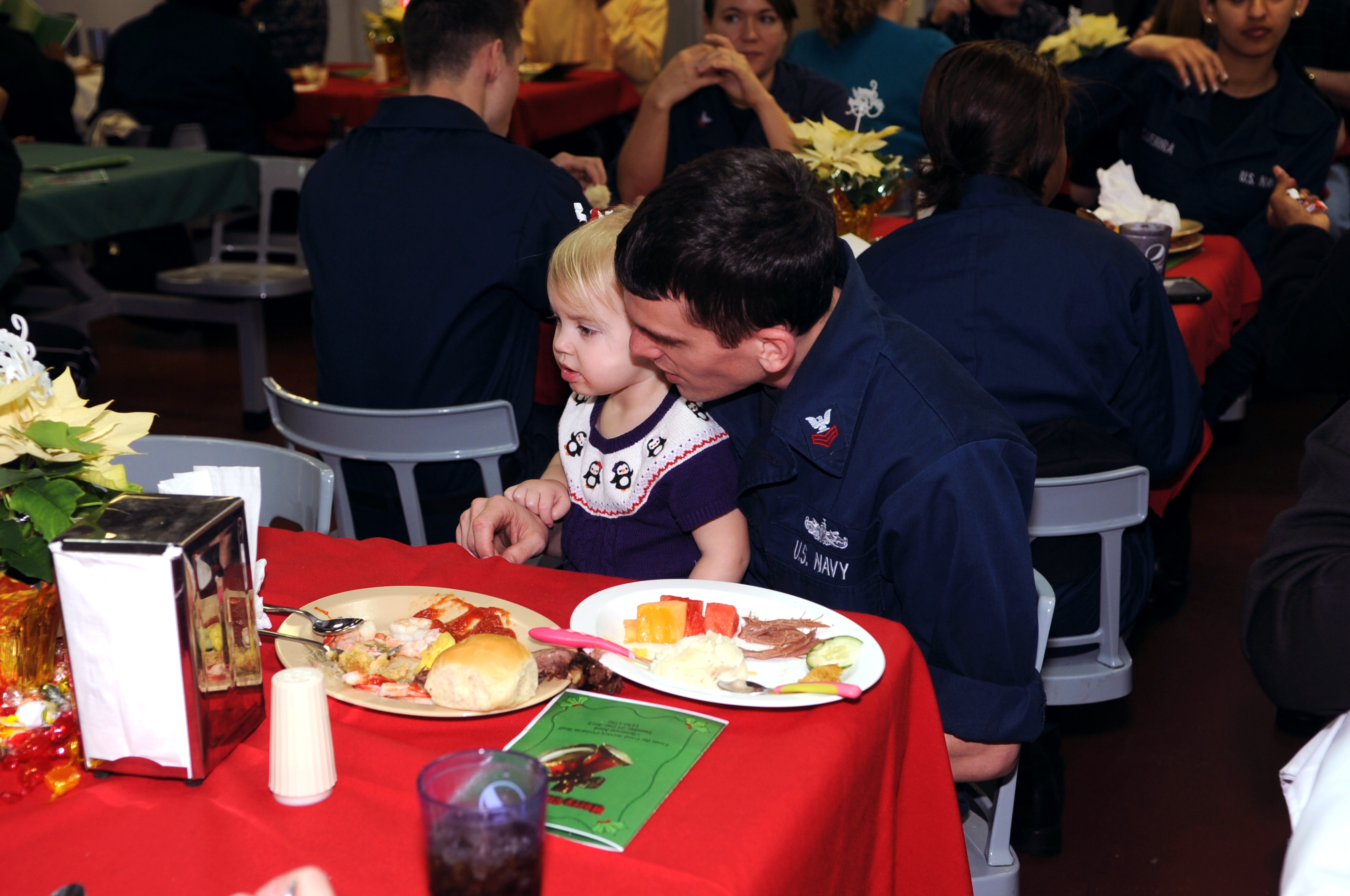 aboard the aircraft carrier USS George H.W. Bush (CVN 77). George H.W. Bush is homeported in Norfolk, Va.
