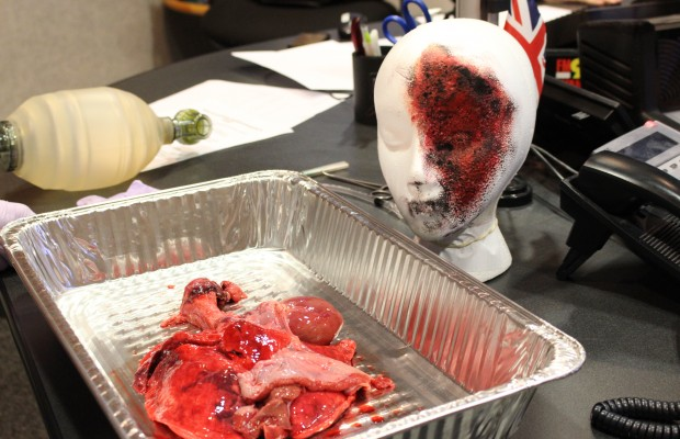 Tracheotomy Demo on Rumble in the Morning
