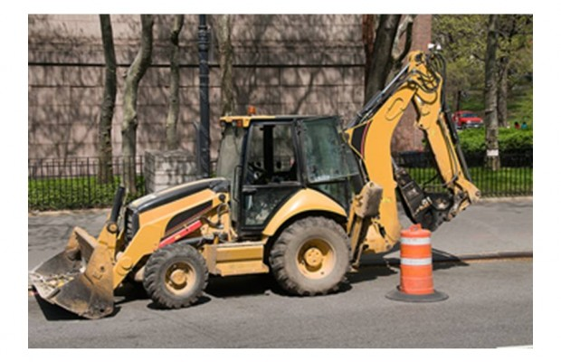 Man on stolen Backhoe makes it 30 miles before being caught