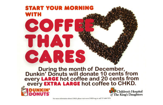 Coffee That Cares – Dunkin' Donuts