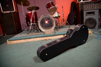 Wet Cold Naked Man found in a Guitar Case