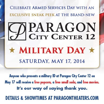 Paragon City Center 12 – Military Day