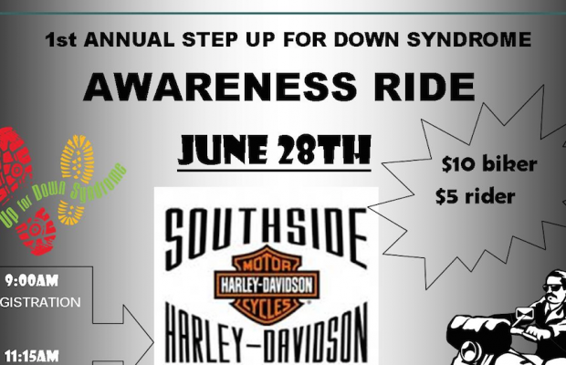 Step Up for Down Syndrome Awareness Ride