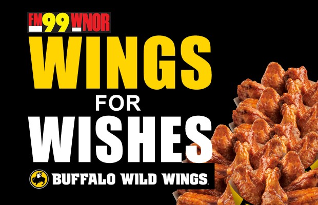 Buffalo Wild Wings – Fundraiser for FM99 Christmas Wish | WNOR FM99