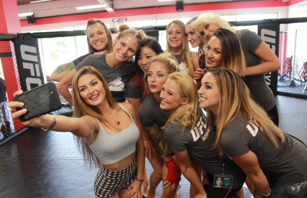 PHOTOS: Rock Girls at UFC Gym | WNOR FM99