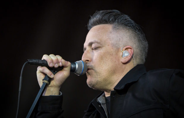 Richard Patrick And Filter On Stage And Backstage At The